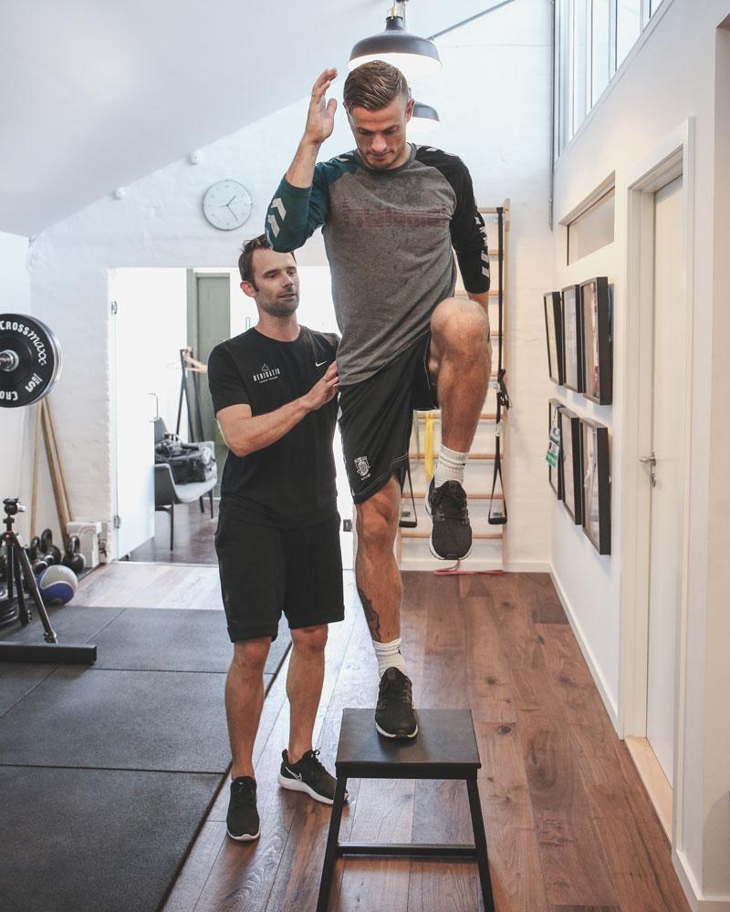Genoptræning Elitesport fysioterapeut