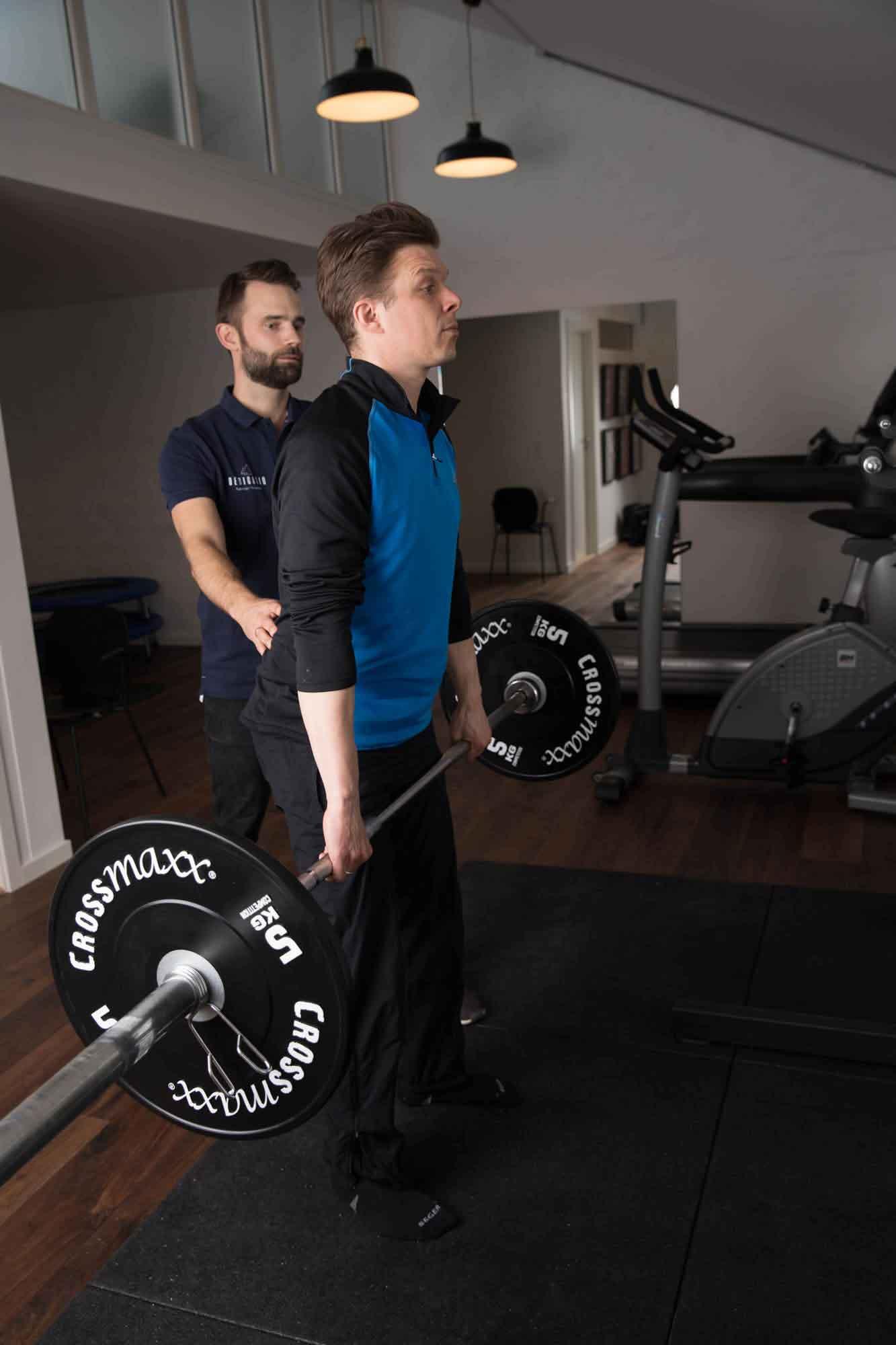 Træning Dedicatio Fysioterapi i Valby