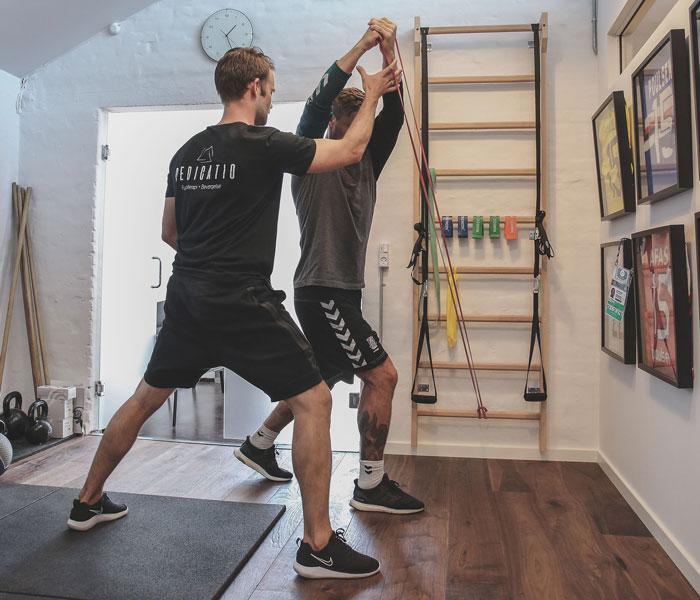 Genoptræning Dedicatio Fysioterapi